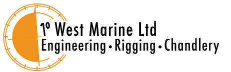 One Degree West Marine Logo